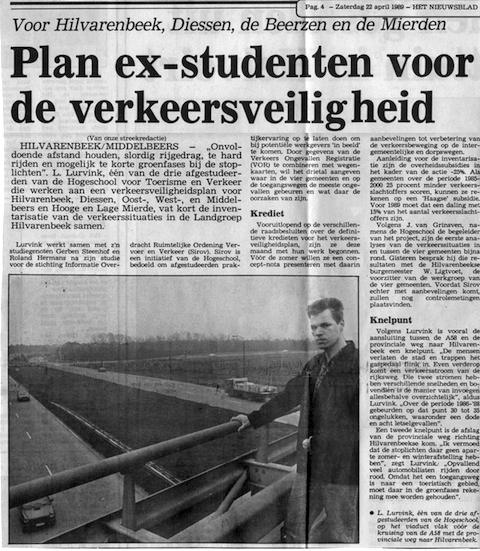 Artikel onderzoek Hilvarenbeek