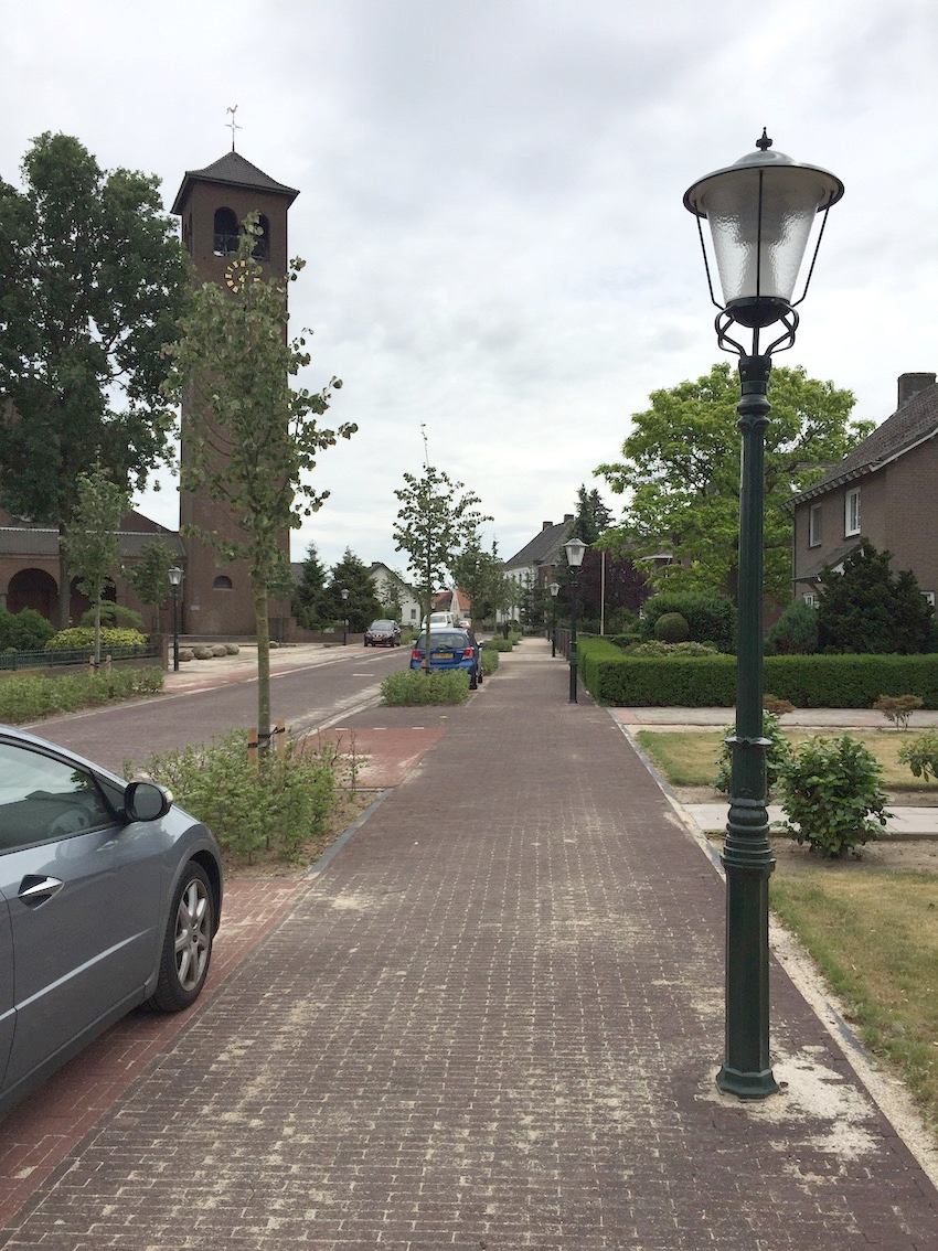 Oranjebuurt in Best - openbare ruimte - werkbare straatinrichting