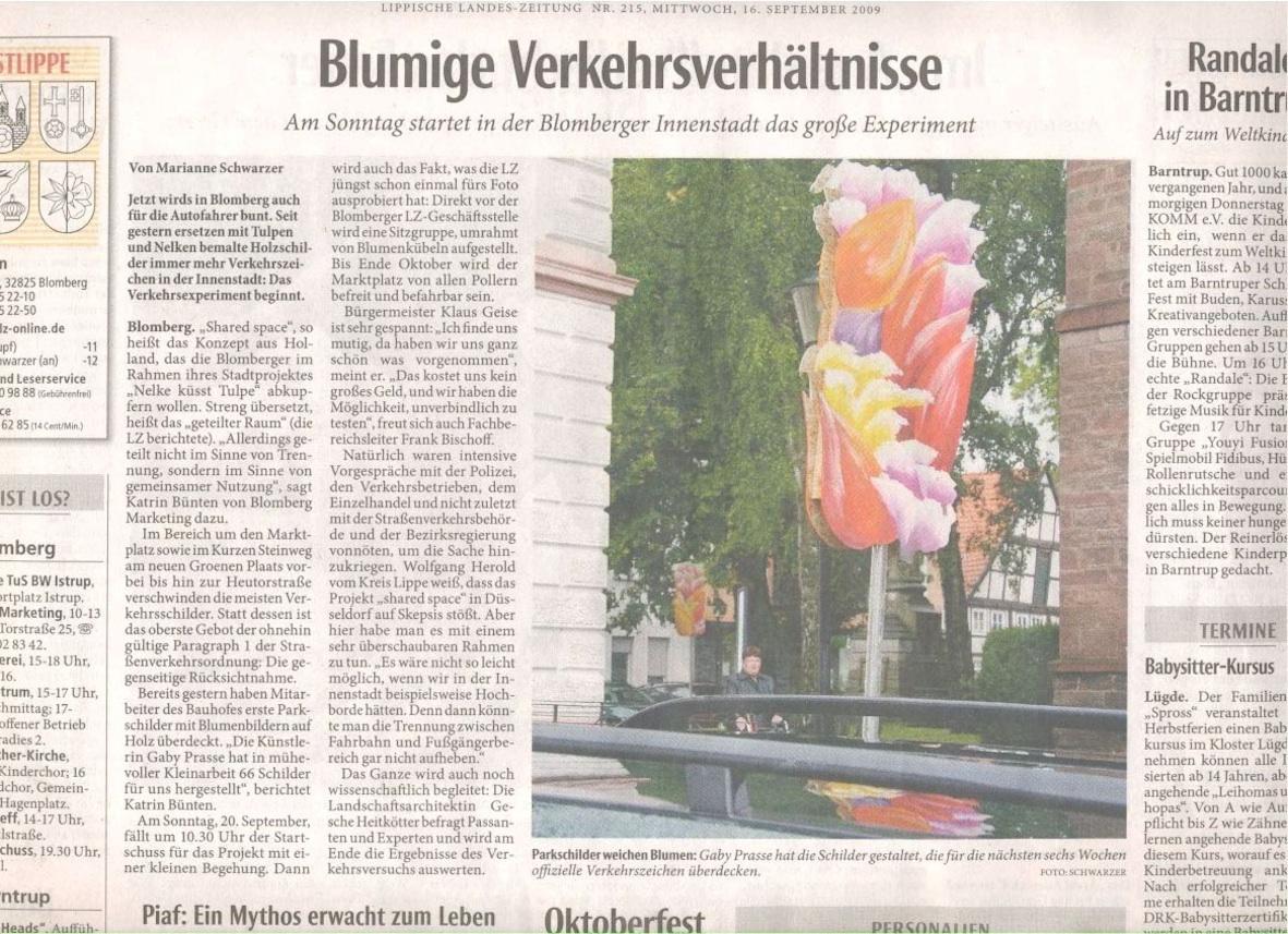 Blomberg - Artikel SharedSpace