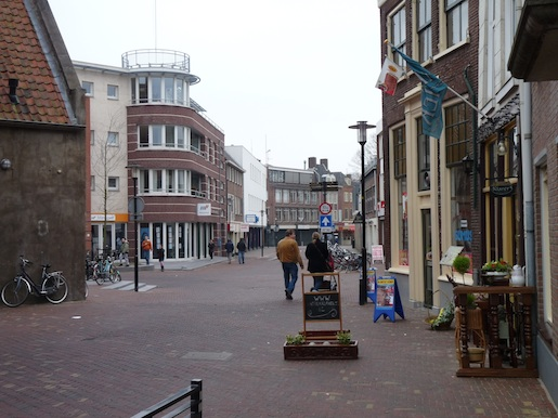 Damstraat in Tiel