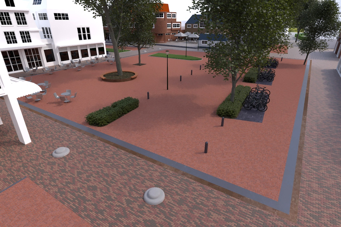 Ontwerp shared space in Bergen