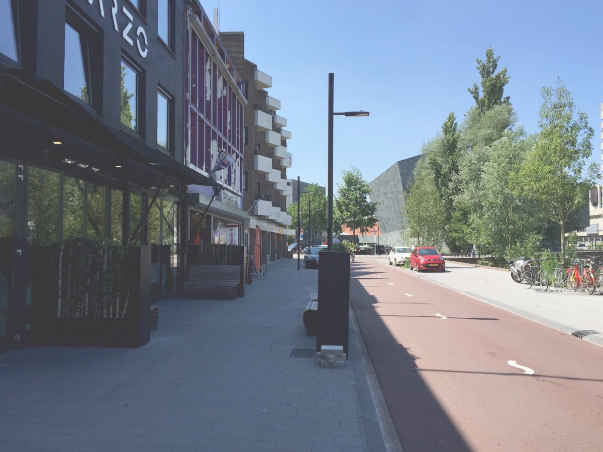 Bleekweg fietsstraat langs de Dommel