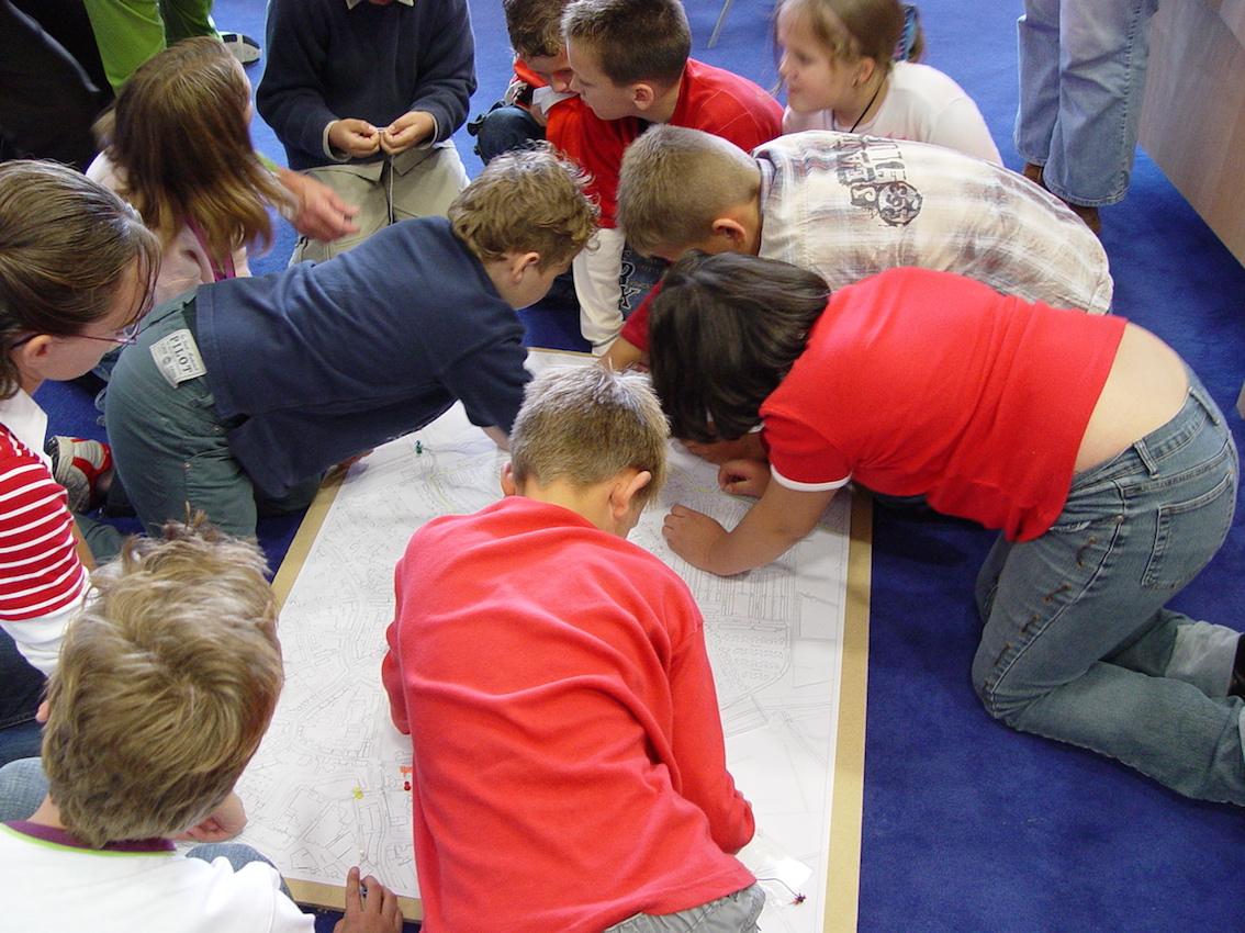 Kinderparticipatie schoolroutes Tiel_2005