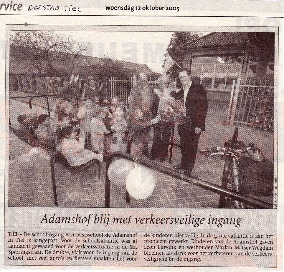 Opening school Adamshof Tiel