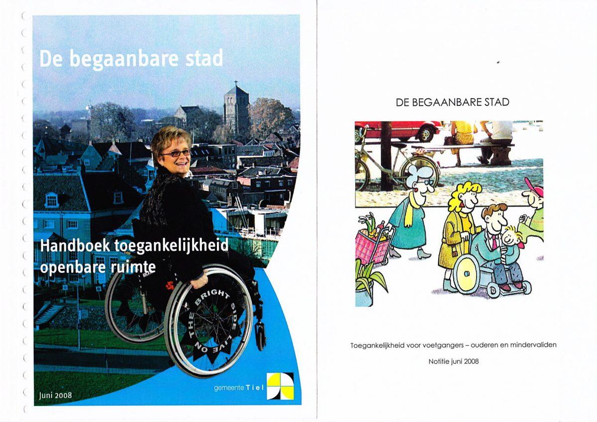 Begaanbare stad - Handboek_toegankelijkheid Tiel 2008