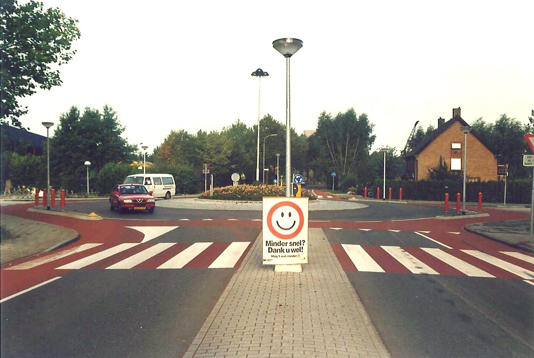 Rijksstraatweg zebra rood